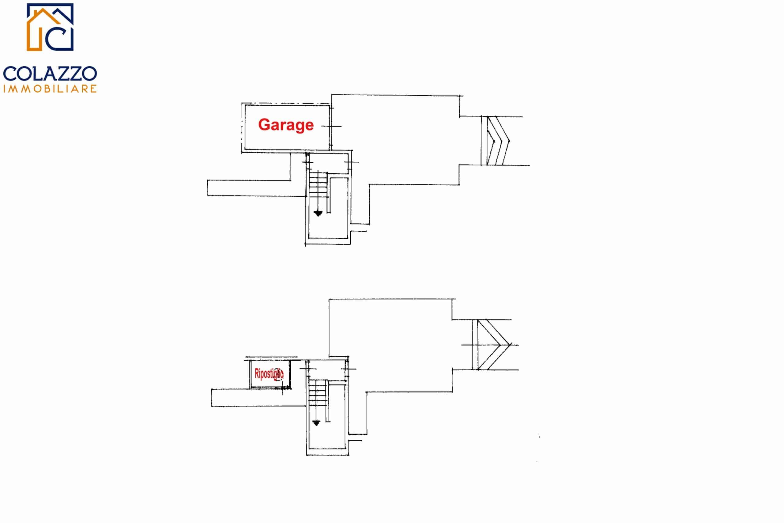 Planimetria Garage e Cantinola