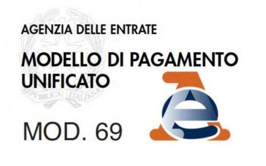 Modello 69 per la Registrazione